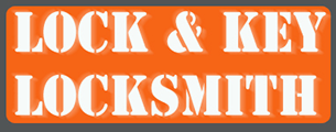 Lock & Key Locksmith Logo
